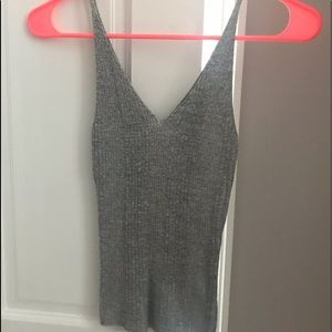 Forever 21 Sparkly Tanktop